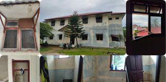 Kondisi Bangunan Asrama Mahasiswa Gayo Lues di Banda Aceh